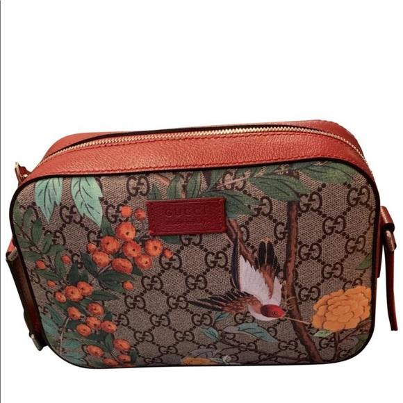 6cfdd5234 gucci tian supreme Bags | Gucci Leather Cross Body Bag | Poshmark